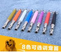 Wholesale Pet Training Dog Adjustable UltraSonic Sound Whistle Express