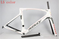 Wholesale 2016 Tour de France racing lotto Soudal team Ridley NOAH SL T1000 UD full carbon racing road frame bicycle complete bike bicicleta frameset