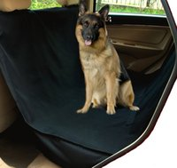 Wholesale Waterproof Hammock Pet Seat Cover for Cars and SUV with Seat Anchors Nonslip Extra Side Flaps Machine Washable Barrier Dog Seat Cover Li