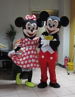 2016 Mascota de Minnie de la mascota de Mickey Mouse de la mascota de Mickey Mouse de la alta calidad de Mickey Mascota Minnie de Minnie de la mascota envío libre