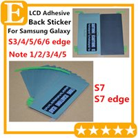 Wholesale Original Back LCD Adhesive Glue Tape Sticker For Samsung Galaxy A5 S6 Edge Plus G920 G925 S7 Edge G930 G935 Note