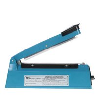 Wholesale 8 quot Heat Sealing Impulse Manual Sealer Machine Poly Tubing Plastic Bag X Teflon