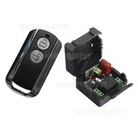 add switch - AC220V CH RF Wireless Remote Control Switch System MHZ Transmitters Receiver Learning code Add controller