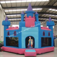 backyard playground equipment - AOQI new design pvc trampoline inflatable castle bouncer indoor inflatable playground equipment bounce castle for children