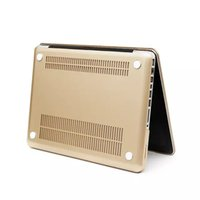 Wholesale laptop bag cover pc metal feel hard gold crystal Shell Cases for Macbook pro colors hot sale