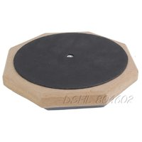 Wholesale Dumb Drum Soft Rubber Double Side Practise Pad Grey and Black Inches