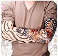 arms or legs - PUNK tattoo Sleeves Outdoor radiation protection arm or Leg tattoo designs personal tattoo cycling sleeve sunscreen