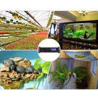 Wholesale Digital LCD Aquarium Temperature Controller Timmer Heating Cooling Thermostat for Reptile Lizard Box Terrarium Incubator Coral