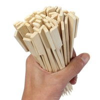 barbeque kebabs - High Quality Reusable cm Bamboo Skewers Paddle Sticks For BBQ Grill Kebab Barbeque
