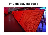 Wholesale Hot sale high quality semi outdoor cm cm P10 red color led display module windows sign led module resolution x16