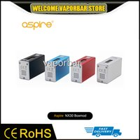aluminum options - Authentic Aspire NX30 Vaping Mod For Busy Lifestyles NX30 Mod Colors Options mah NX30w Mod Aluminum Housing And Connector