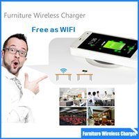 apple furniture - Qi Furniture Waterproof Qi Wireless Charging Pad for Samsung Galaxy S7 edge S6 lg g3 Note5 Nexus4 Lumia
