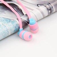 Wholesale Super clear voice earphone Metal Ear Headphones Mobile Computer MP3 Universal MM headphone amazing sound