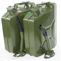Wholesale L Gallon Jerry Can Green Military NATO Style Gas Fuel Steel Tank