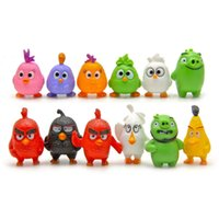 big lots garden - Angry birds PVC material desk furnishing articles cm gardening landscape figurines With Of Kinds