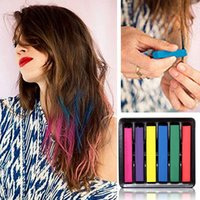 alcohol color - Beauty Convenient Temporary Super Hair Dye Colorful Chalk Hair Color Alcohol Free chalks for the hair giz pastel G J6