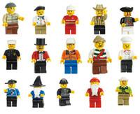 al por mayor artículos de regalo-Juguetes para niños Loz Minifiguras con diferentes de Acción modelar la figura de los bloques huecos fija 20 PC / porción juguetes muñecas de los niños Ladrillos de bricolaje para artículos de regalo