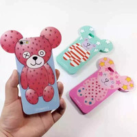 big ear phones - 1pc Fashion Big Ear IPHORIA TPU Mobile Phone Case for iPhone s plus inch Soft Gel Back Protective Cover Shell Freeshipping