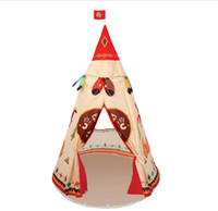 Wholesale Indian Style Waterproof tents Free DHL Children Play House Castle Tent for Indoor children Outdoor games tents toy house B001