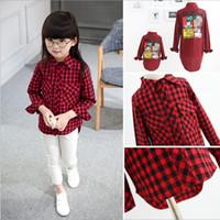 Wholesale Hug Me Mother Daughter Clothes SAutumn Fashion Cute Cartoon Mickey Design Cotton Stripe Shirt Long Sleeve Top Blouse ER