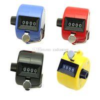 Wholesale Digital Hand Held Tally Clicker Counter Digit Number Clicker Golf B00109 FSH