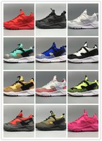 air arts - 2016 Newest air Huarache IV Running Shoes For Men Women Black White High Quality Sneakers Triple Huaraches Jogging Sports Shoes Eur36