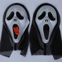 Wholesale Halloween Ghost mask toy terrorist mask headgear devil mask screaming funny scary face masks