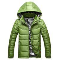 Wholesale 2016 Hot Sale Brand Down Jacket Men Winter Jacket Men Warm Duck Down Coat Hooded Jacket Jaqueta Masculina Chaqueta Black Plus Size