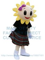 adult sunflower costumes - sunflower mascot costume flower mascot custom adult size cartoon character cosply carnival costume