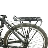 aluminum hitch carrier - High strength Aluminum Alloy Mountain Bike Rack Road MTB Bicycle Rack Carrier Cycling Shelf Bracket for Disc Brake V brake Bike B098