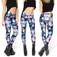 Mujeres Moda Diamantes Galaxy Leggings Negro y Blanco Pantalones de buceo Impreso Sky Space Stretchy Breathe Navidad caliente Jeggings Slim medias