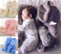 animal pillow prices - ins NICI Elephant Plush Toy Doll Sleeping Soft Pillow Cushion Baby Gift Good Price