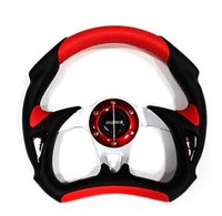 Wholesale 320mm inch PU leather Auto Racing Car Steering Wheel Car Styling