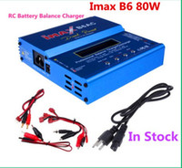 Wholesale 80W IMAX B6AC RC Balance Lipo Battery Charger B6 AC Nimh Nicd lithium Battery Balance Charger Discharger with Digital LCD Screen