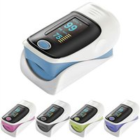 Wholesale Pulse oximeter with OLED screen CE FDA approved fingtip oximeter with alarm function heart rate monitor SPO2 pedometer