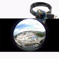 Wholesale Wide angle USB video cam board P X1080 MJPEG fps CMOS CCTV USB surveillance camera module with MP mm fisheye lens