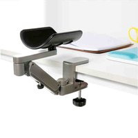 adjustable aluminum shelving - Guaranteed Let arm free Aluminum Alloy tablet arm holder adjustable Arm Bracket Relieve fatigue for Computer user