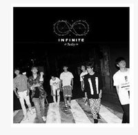 Wholesale INFINITE Kim SungGyu Dongwoo woohyun Howon Seongyeol L kim SeongJong Mini REALITY limited edition poster album