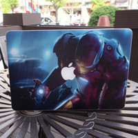 Wholesale Creative personality Vinyl Local Decal Sticker Skin for Apple MacBook Pro Air Retina Iron Man