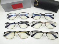 Wholesale Eyeglasses frames men women oculos original eyewear optical frame glasses women clear glasses myopia eyeglass frames with logo