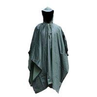 Wholesale Jungle digital camouflage waterproof raincoat Cheap Awning raincoat Mats Discount Hunting clothes camouflage poncho Online