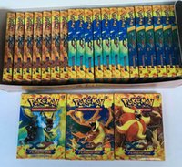 trading cards - Poke Trading Card Games Newest English Edition XY Anime Monsters Cards board games Card Toys for Children Kids