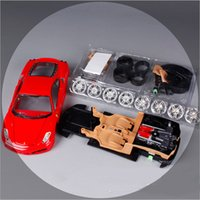 auto assembly line - 1 Scale children Maisto F430 red racing car metal diecast DIY kids assembly line auto collectible model cars gift mini toy