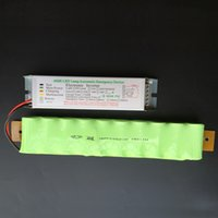 automatic emergency tube light - New arrival Lighting transformers H LED automatic emergency power supply for LED W lighting tube with emergency NI MH battery