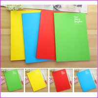 Wholesale 4 Colors Notebook Travel Journal Diary Planner Notepad Notebooks for Students Kids Office School Stationery Gifts
