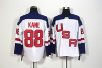Wholesale Men s USA Hockey Patrick Kane White World Cup of Hockey Premier Player Jersey