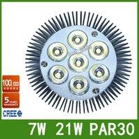 Wholesale DHL High Quality Warranty Years E27 E26 Led Spotlight PAR30 W W LED Bulbs Lamp CREE Chip AC V V UL DLC