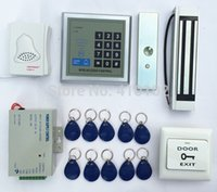 Wholesale Full Complete KHz Rfid Card Reader Door Access Control Security System Kit LBS Electric Magnetic Lock