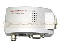 Wholesale VGA to BNC and S Video Video Converter Adapter