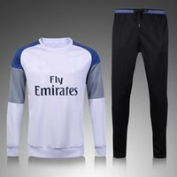 best dry pants - 3A Best quality Real Madrid soccer tracksuit chandal Tracksuit training suit skinny pants Sportswear best quality